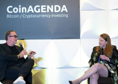 Emma Channing (ConsenSys) and Richard Titus