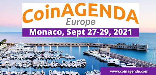 CoinAgenda Europe Announces First Speakers for Crypto and Blockchain Investing Conference September 27-29